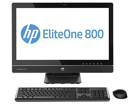 Моноблок HP EliteOne 800, Intel Core i3 4130, 4Гб, 500Гб, Intel HD Graphics 4600, DVD-RW, Windows 7 Professional, черный [e4z51ea]
