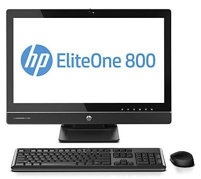 Моноблок HP EliteOne 800 G1, Intel Pentium Dual-Core G3220, 4Гб, 1000Гб, Intel HD Graphics, DVD-RW, Windows 7 Professional, черный [f3x07ea]