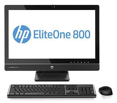 Моноблок HP EliteOne 800 G1, Intel Core i5 4570S, 4Гб, 500Гб, Intel HD Graphics 4600, DVD-RW, Windows 7 Professional, черный [h5t92ea]