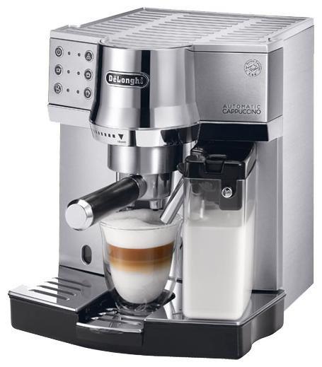 Кофеварка DELONGHI EC 850.M,  эспрессо,  серебристый [ec 850.m ]
