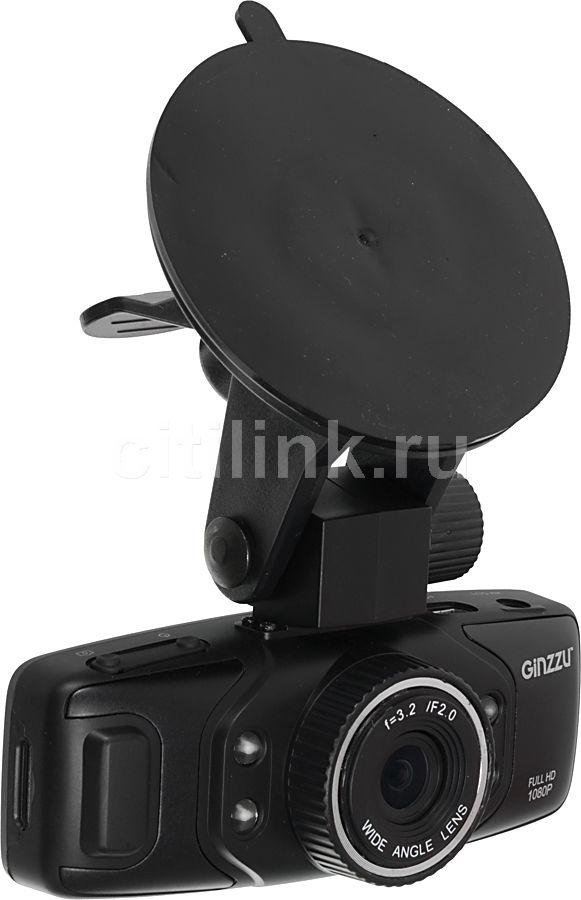 Видеорегистратор GINZZU FX-902HD черный
