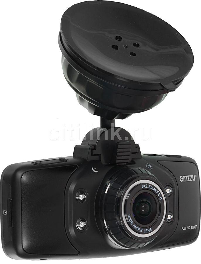 Видеорегистратор GINZZU FX-904HD черный