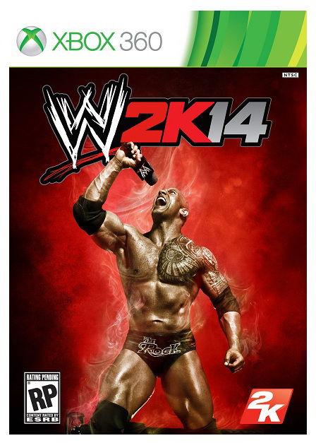 Игра BUKA WWE 2K14 для  Xbox360 Rus (документация)