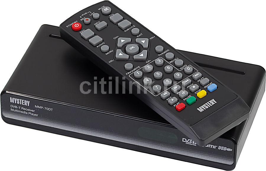 Ресивер DVB-T MYSTERY MMP-70DT,  черный