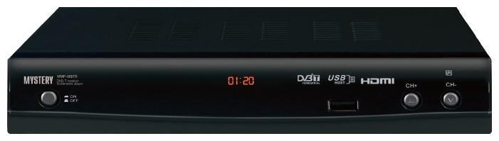 Ресивер DVB-T MYSTERY MMP-88DTR,  черный