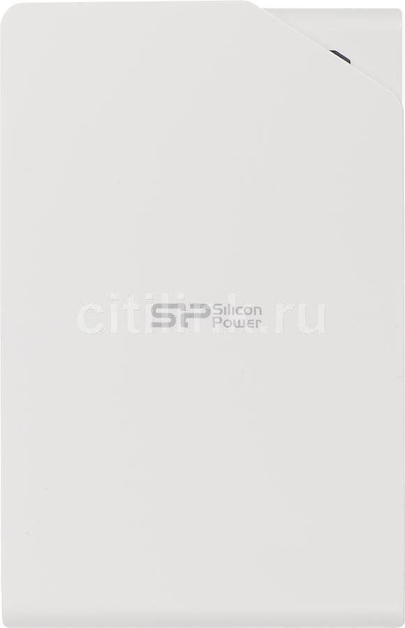 Внешний жесткий диск SILICON POWER Stream S03 SP010TBPHDS03S3W, 1Тб, белый