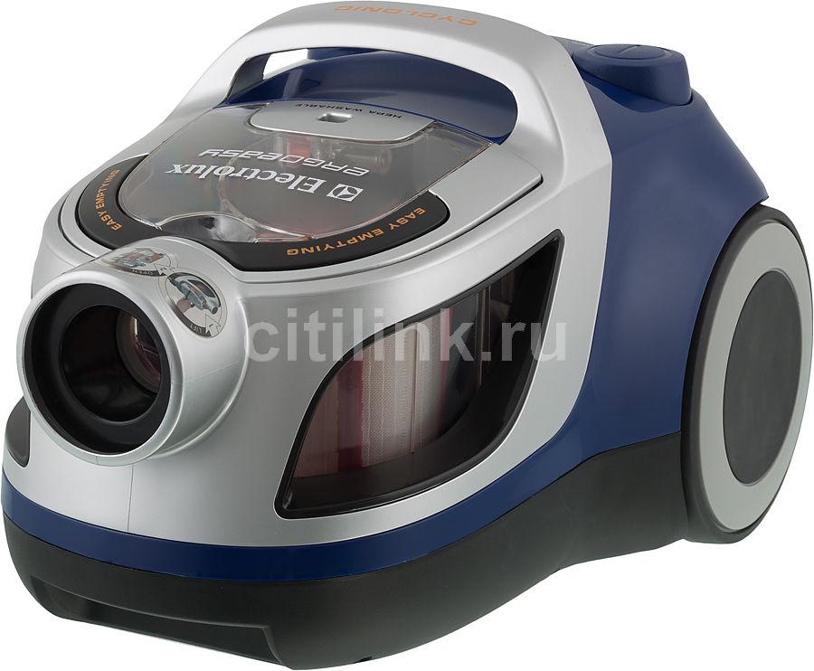 Пылесос ELECTROLUX Ergoeasy ZTF7616, 1800Вт, синий