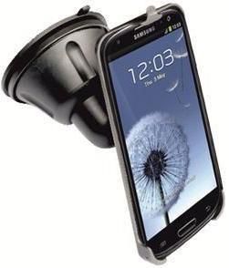 Держатель GINZZU GH-558,  Samsung Galaxy S III,  черный