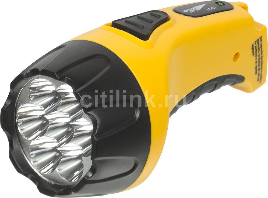 Ручной фонарь ЯРКИЙ ЛУЧ LA-07, желтый, отзывы владельцев в интернет-магазине СИТИЛИНК (859781) - Москва