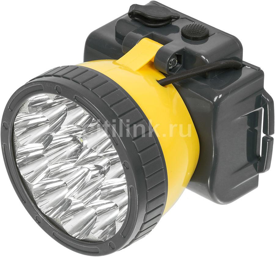 Купить Налобный фонарь ЯРКИЙ ЛУЧ LH-15A, желтый в интернет-магазине СИТИЛИНК, цена на Налобный фонарь ЯРКИЙ ЛУЧ LH-15A, желтый (859786) - Череповец