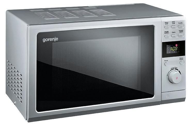 Микроволновая печь GORENJE MO20DGS, серебристый