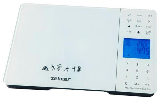 Весы кухонные ZELMER ZKS16500,  белый