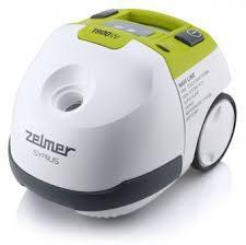 Пылесос ZELMER Syrius 1600.3 HQ, 1900Вт, белый/зеленый