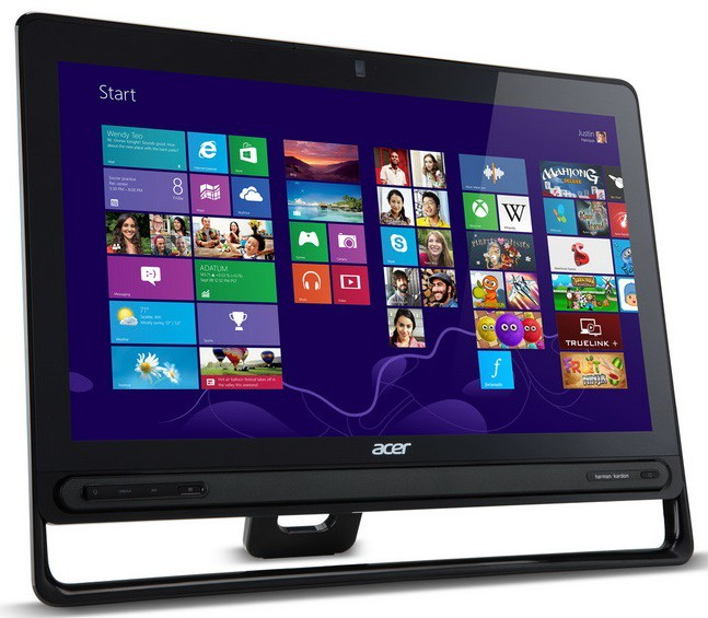 Моноблок ACER Aspire Z3-600, Intel Pentium, 4Гб, 1Тб, Intel HD Graphics, Windows 8 [dq.sther.002]