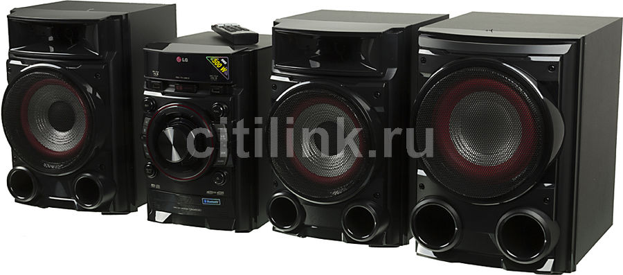 Музыкальный центр LG CM4530,  черный