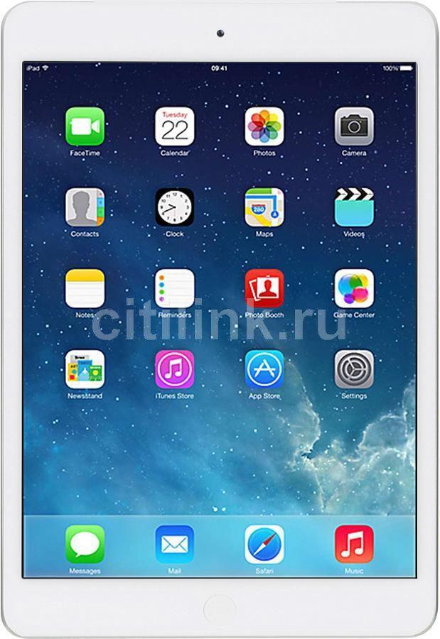 Планшет APPLE iPad Air 128Gb Wi-Fi + Cellular ME988RU/A,  1GB, 128GB, 3G,  4G,  iOS серебристый