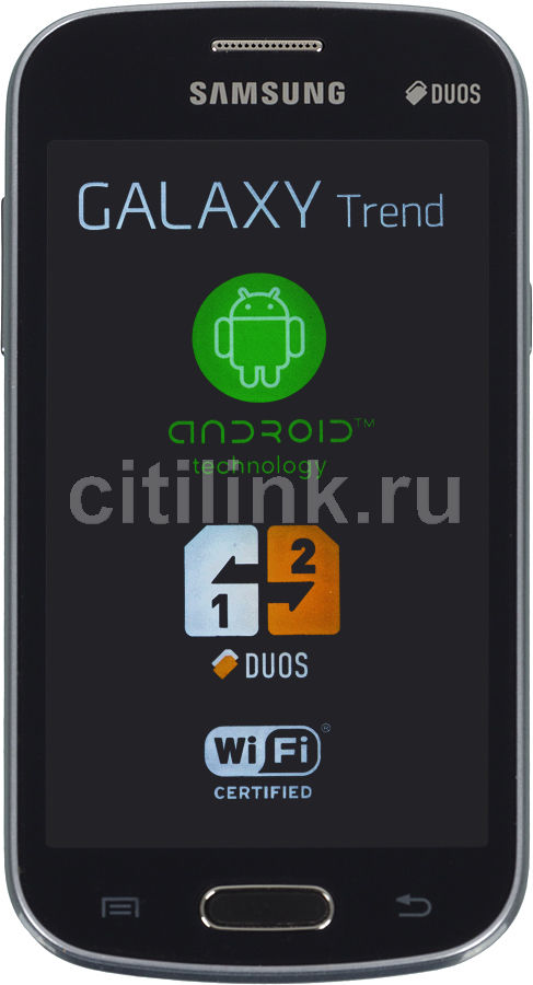 Смартфон SAMSUNG Galaxy Trend GT-S7392  черный