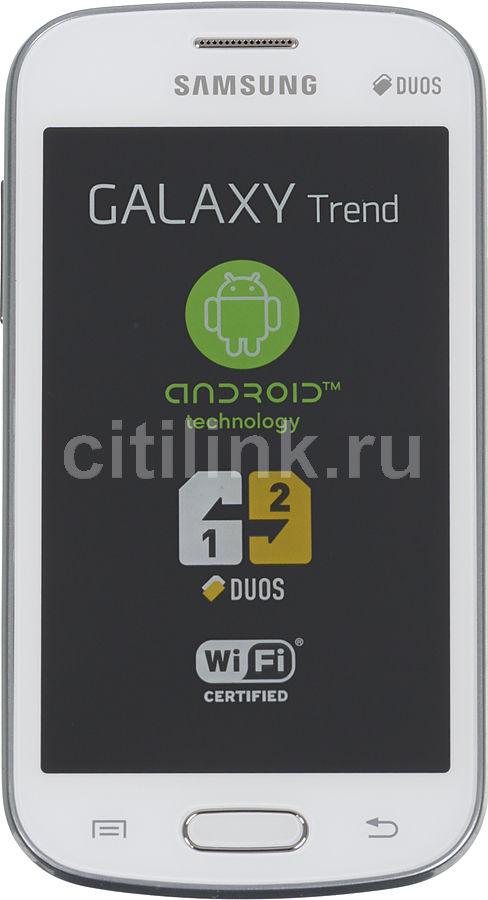 Смартфон SAMSUNG Galaxy Trend GT-S7392  белый