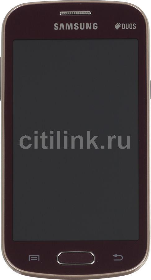 Смартфон SAMSUNG Galaxy Trend GT-S7392  красный