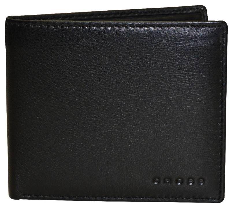 Портмоне Cross Classic (AC068072-1) черный натуральная кожа 4 отделения для карт