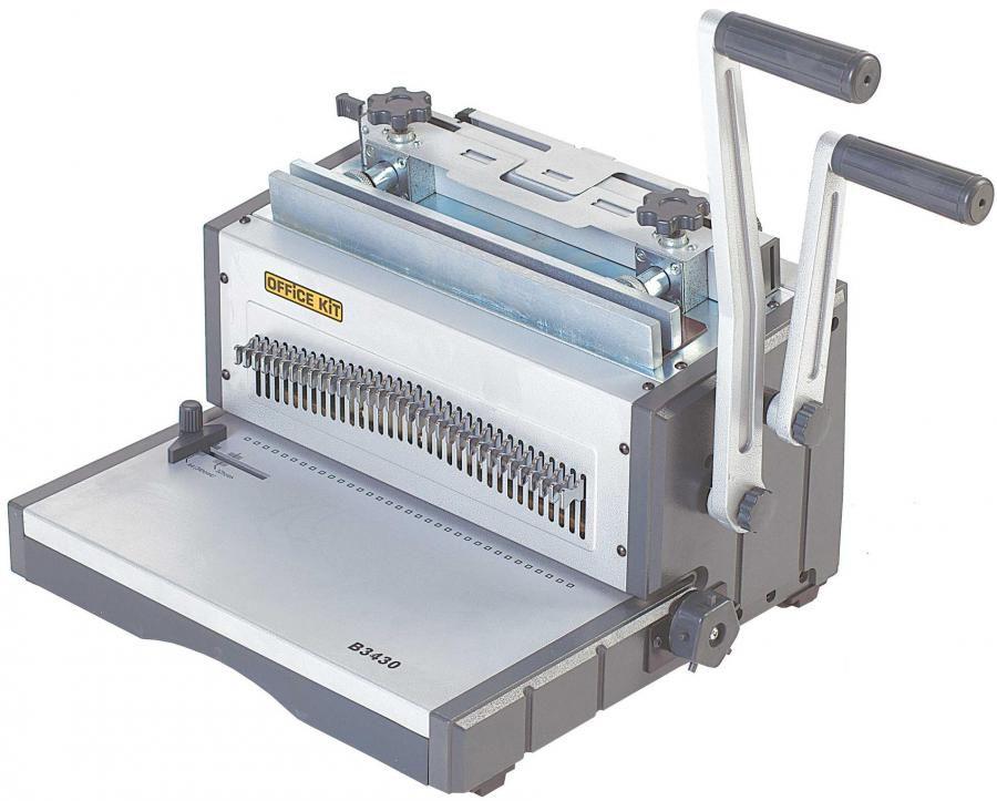 Переплетчик OFFICE KIT B3430,  A4,  от 5.5 до 14.3 мм