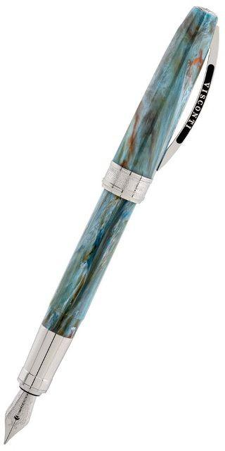 Ручка перьевая Visconti Van Gogh 2011 Автопортрет (78325M) голубой 18г M сталь подар.кор.