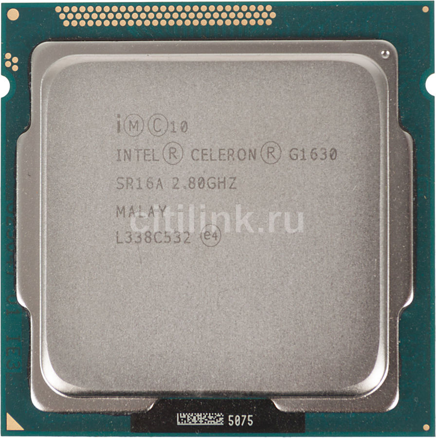 Процессор INTEL Celeron G1630, LGA 1155 OEM