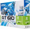 Видеокарта MSI GeForce GT 610,  2Гб, DDR3, Low Profile,  Ret [n610-2gd3h/lpl] вид 6