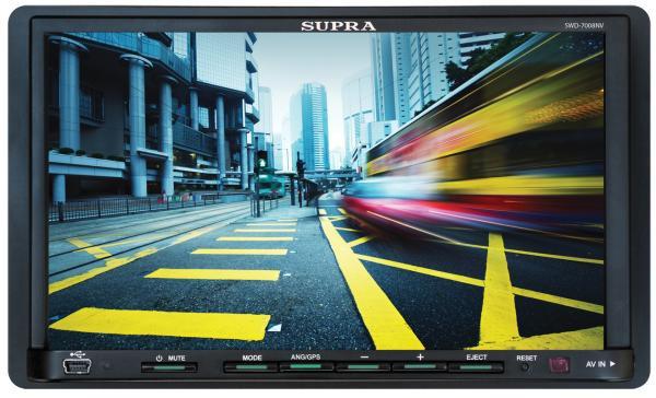 Автомагнитола SUPRA SWD-7008NV,  USB,  SD