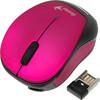 Мышь GENIUS Micro Traveler 9000R оптическая беспроводная USB, розовый и черный [31030108101] вид 2