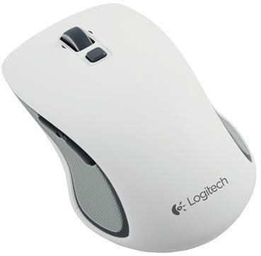 Мышь LOGITECH M560 оптическая беспроводная USB, белый [910-003914]