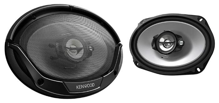 Колонки автомобильные KENWOOD KFC-E6965,  коаксиальные,  400Вт