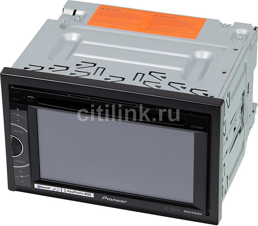 Автомагнитола PIONEER AVH-X2600BT,  USB