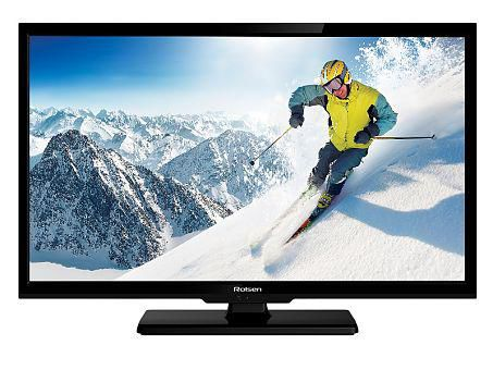 "LED телевизор ROLSEN RL-24E1303  ""R"", 24"", HD READY (720p),  черный"