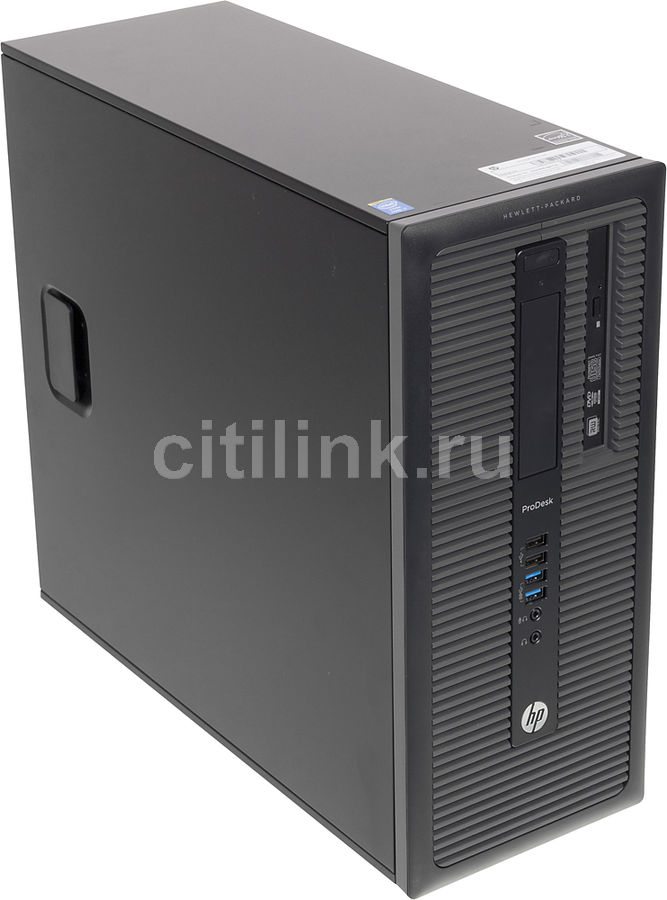 Компьютер  HP ProDesk 600 G1 MT,  Intel  Core i7  4770,  DDR3 4Гб, 1000Гб,  AMD Radeon HD 8490 - 1024 Мб,  DVD-RW,  Windows 7 Professional,  черный [e5a98ea]