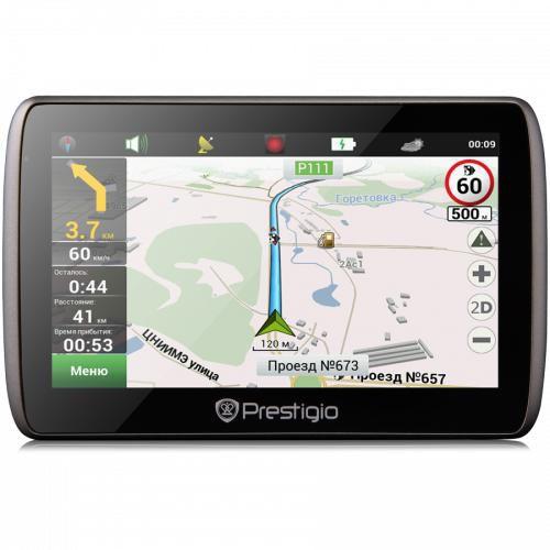 GPS навигатор PRESTIGIO GeoVision 5000,  5
