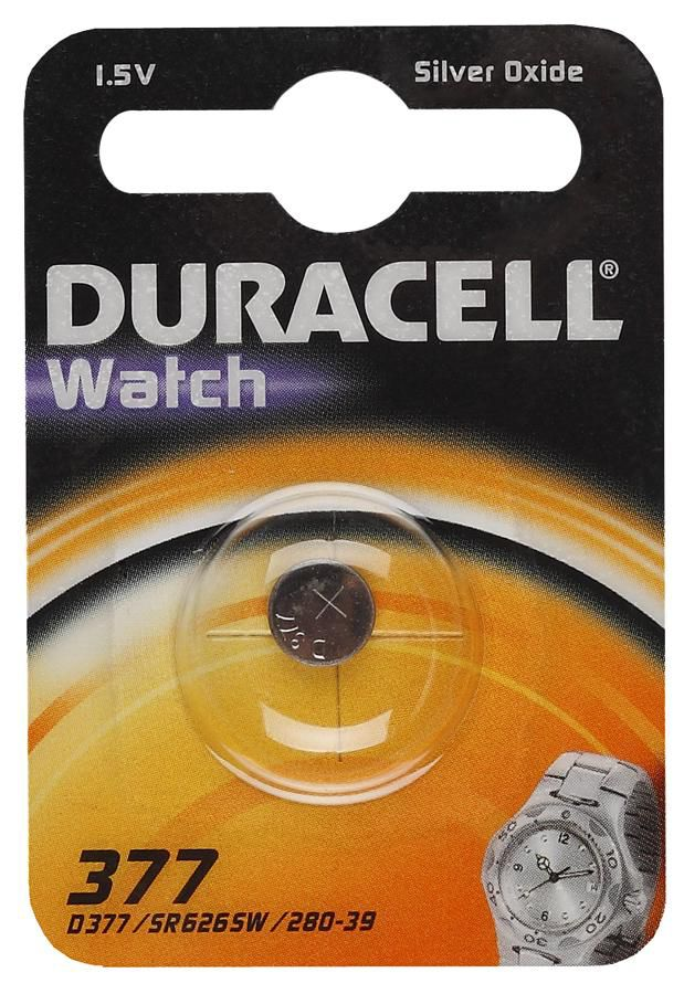 Батарея DURACELL SR-66-1BL,  1 шт. LR377