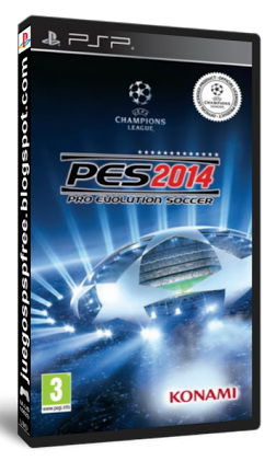 Игра SOFT CLUB Pro Evolution Soccer 2014 для  PSP RUS (субтитры)