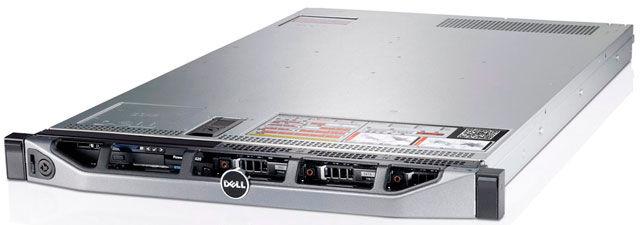 Сервер Dell PE R620 2xE5-2609v2/24x16Gb 2RLVRD 1.6/ x8 2.5