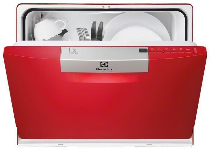 Посудомоечная машина ELECTROLUX ESF2300OH,  компактная, красный