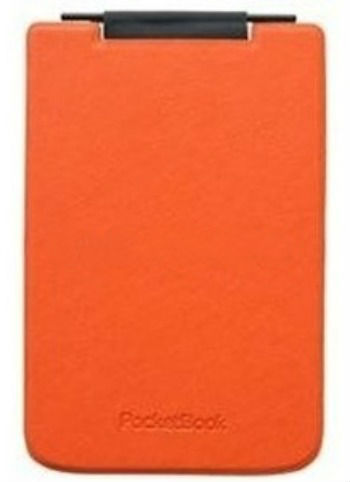 Обложка POCKETBOOK PBPUC-624-ORBC-RD, оранжевый/ черный