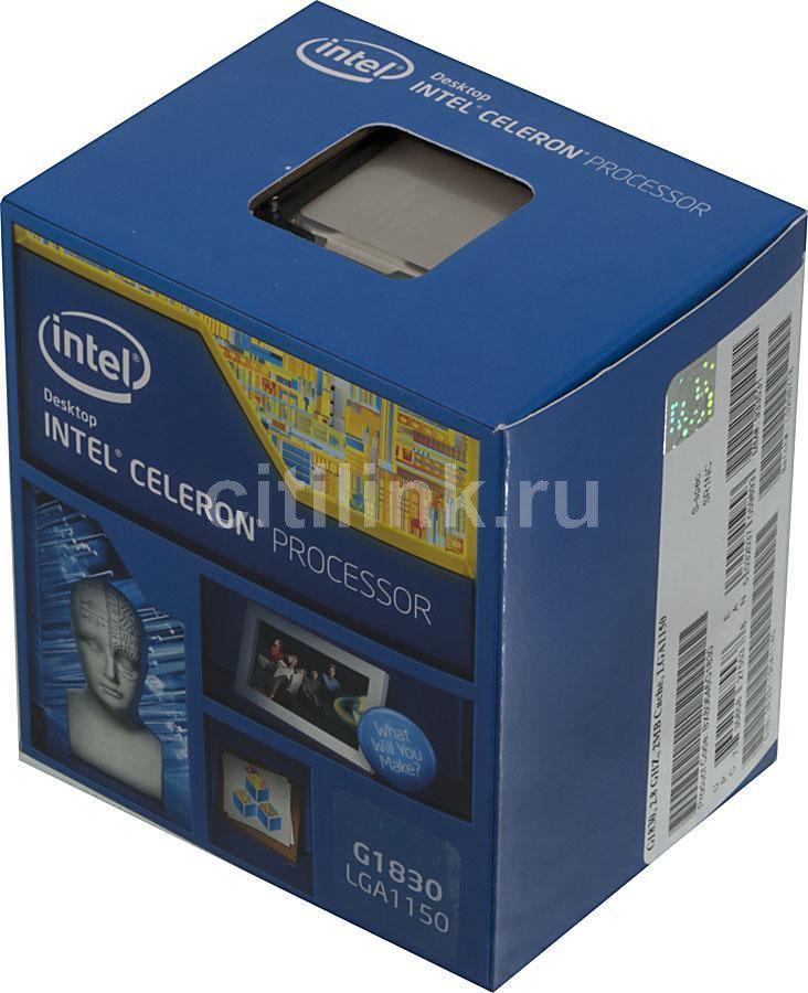 Процессор INTEL Celeron G1830, LGA 1150 * BOX [bx80646g1830 s r1nc]