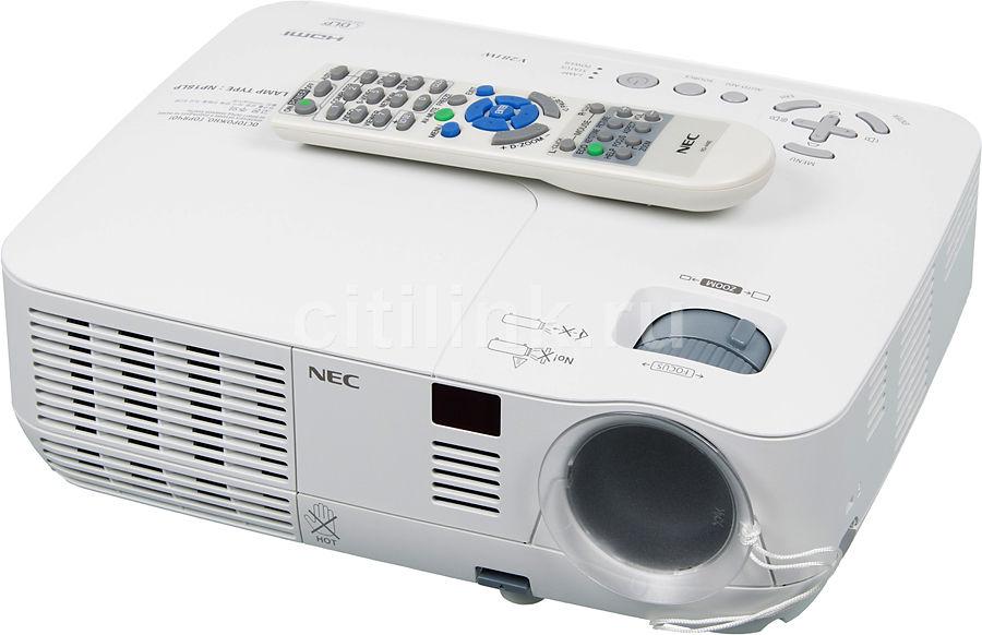 Проектор NEC V281W белый