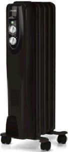 Масляный радиатор BALLU Classic BOH/CL-05BR, 1000Вт, черный