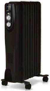 Масляный радиатор BALLU Classic BOH/CL-09BR, 2000Вт, черный