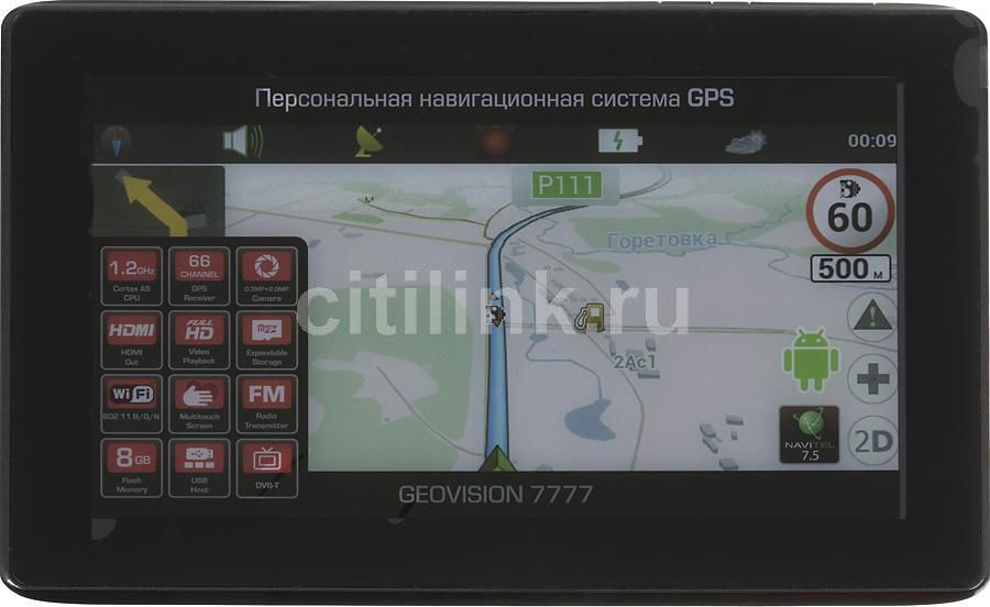 GPS навигатор PRESTIGIO GeoVision 7777,  7