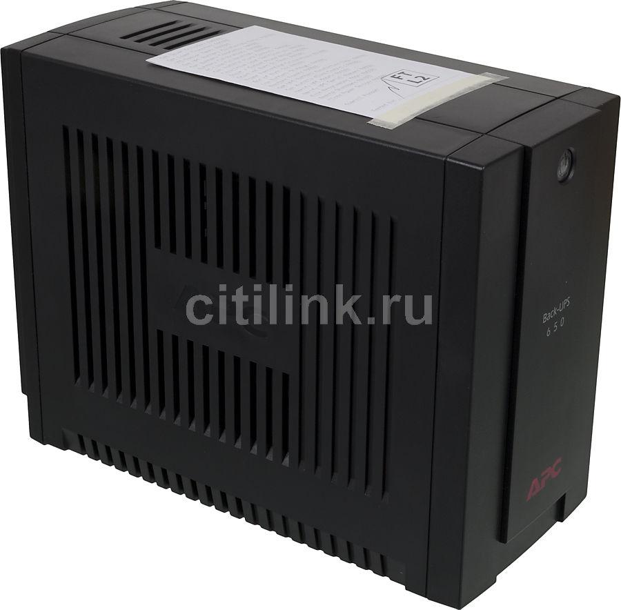 Источник бесперебойного питания APC Back-UPS BC650-RS,  650ВA