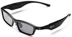 Очки 3D LG AG-S350,  1 шт,  черный