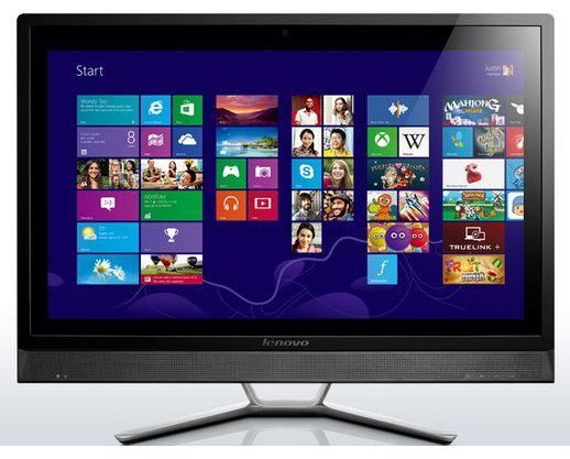 Моноблок LENOVO C560, Intel Pentium Dual-Core G3220T, 4Гб, 1Тб, nVIDIA - 2048 Мб, DVD-RW, Windows 8.1 [57321592]