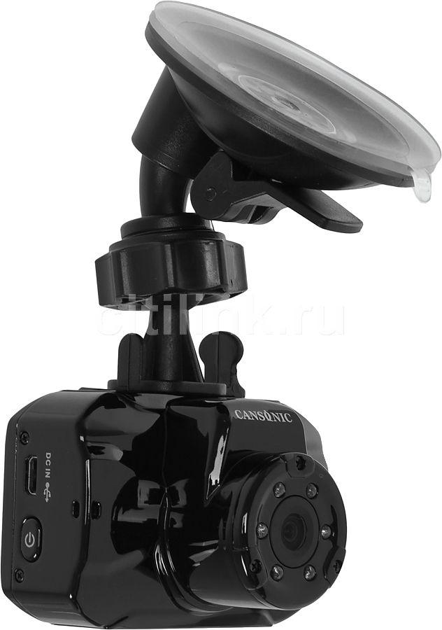Видеорегистратор CANSONIC MonoCam CDV-400 черный